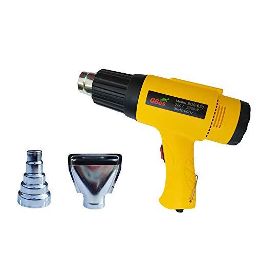 Lidauto elektrisch heteluchtpistool, industriële, temperatuurregulerend, warmteregulerend, thermo-gereedschap, BOS-B20, 110 - 220 V, 2000 W