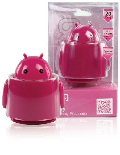Andy KNG-FSP5 Tragbarer Lautsprecher (20 Watt, USB) rosa