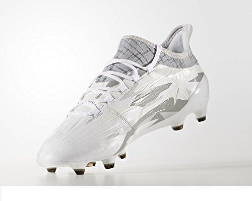 adidas X 16.1 FG - Crampons de Foot - Blanc/Noir -...