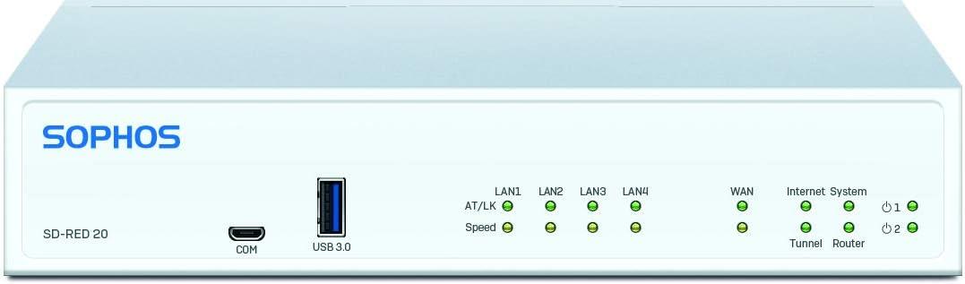 Sophos SD-RED 20 Rev. 1 Remote Ethernet Device (R20ZTCHMR)