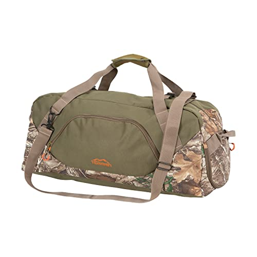 Allen Company Terrain Basin Travel and Hunting Duffel Bag, Large, Green/Realtree Edge Camo (19215) / with Pouch