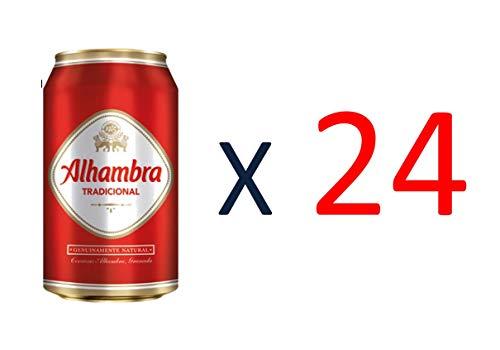 Bier Alhambra Tradicional 24x33cl (Pack 24 Dosen)