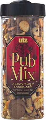 Utz Pub Mix, A Savory Blend of Crunchy Snacks- 20 oz. (2 Containers)