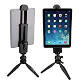 ULANZI U-Pad - Adaptador universal para trípode de tableta, compatible con iPad Pro, iPad Air, Surface y smartphone, trípode y palo selfie con conexión de tornillo de 1/4'