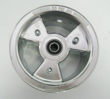 Azusa 6' Tri-Star Wheel, 3' Wide with 5/8' Sealed Ball Bearings