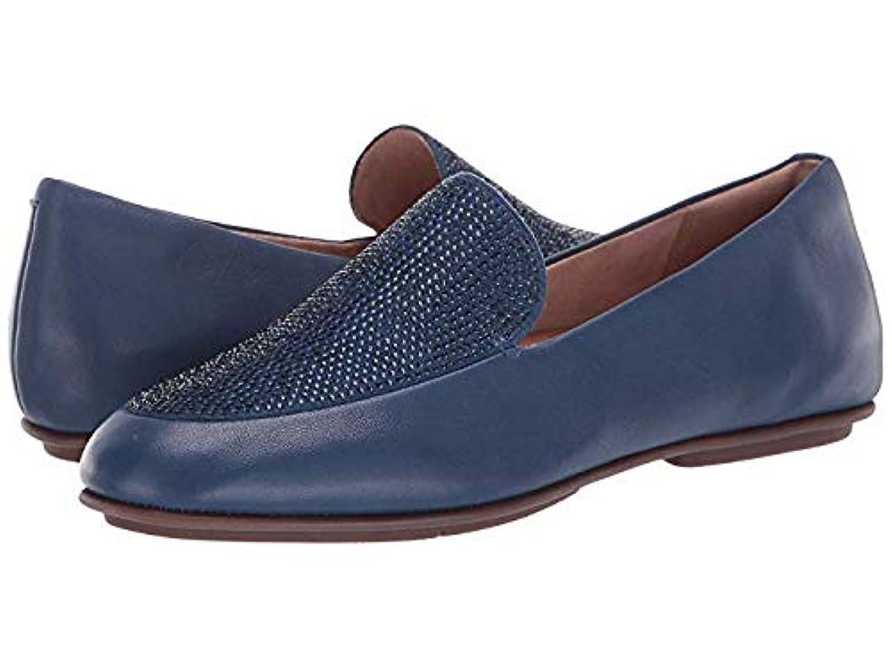 ガイドライン分子気体のレディースローファー?靴 Lena Crystal Loafers Aurora Blue (23.5cm) M (B) [並行輸入品]