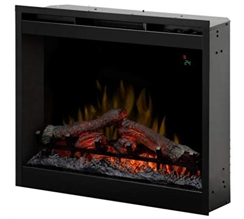 "DIMPLEX Firebox DF2624L - 26"" Built-in Fireplace Eléctrico Negro - Chimenea (230 V, 50 Hz, 2000 W, 9 W, 2000 W, 694 mm)"