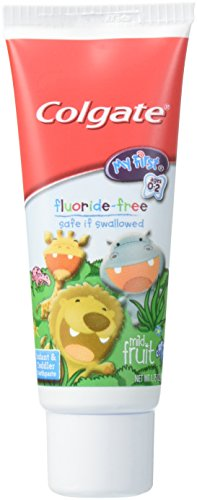 Colgate My First Fluoride Free Mild Fruit Toothpaste, 1.75 Ounce