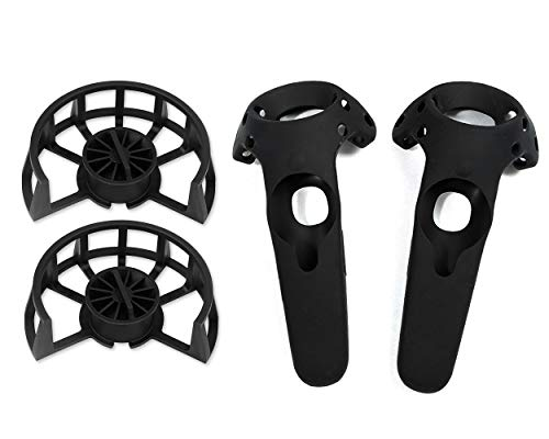 SCSpecial Gabbie protettive per Controller HTC Vive Custodie protettive per Accessori HTC Vive (Cages+Silicone Sleeves)