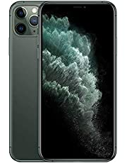Apple iPhone 11 Pro Max with FaceTime - 64GB, 4GB RAM, 4G LTE, Midnight Green, Single SIM & E-SIM