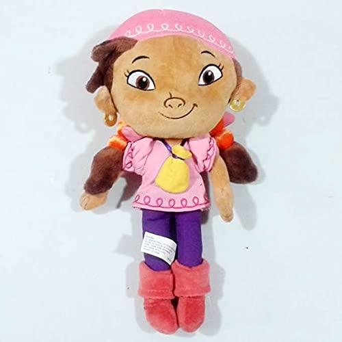 Peluches 30cm = 11.8 Pulgadas Little Girl Lzzy Figure Doll, 1pcs Jake and The Never Land Pirates Peluche De Juguete Suave De Regalo
