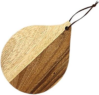 まな板 トレー アカシア カッティングボード ドロップ 木製 ダイカット 45076130