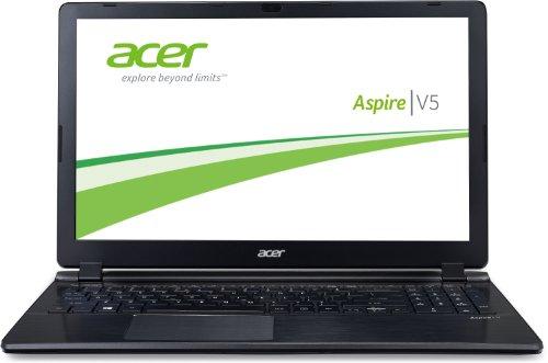 Acer Aspire V5-573G-54208G50akk 39,6 cm (15,6 Zoll) Notebook (Intel Core i5-4200U, 1,6GHz, 8GB RAM, 500GB HDD, NVIDIA GT 750M, Win 8) aluminium/schwarz