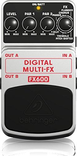 3. Behringer Digital Multi-FX FX600 Digital Stereo Multi-Effects Pedal