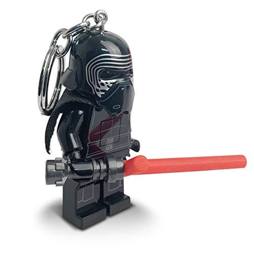 IQ Lego Star Wars - Kylo Ren with Lightsaber LED Key Chain Flashlight