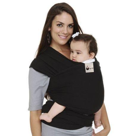 Écharpe porte-bébé de qualité supérieure. Ideal Comfort Mélange de coton et élasthanne super doux – Coupe confortable et confortable – Convient pour les nouveau-nés jusqu'à 30 kg.