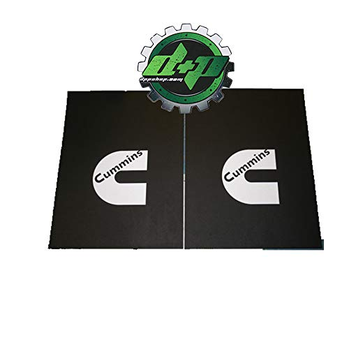 Dodge Cummins Rubber 18x24 dually semi mudflaps Splash Guards Diesel Truck Set of 2