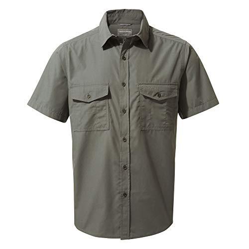 Craghoppers Herren Kiwi T-Shirt, Dark Grey, L