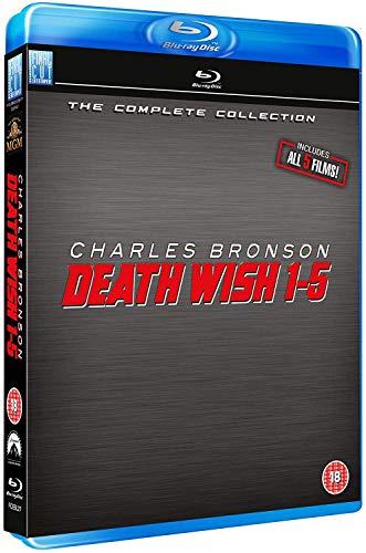 Death Wish 1-5 Blu Ray Box Set [Reino Unido] [Blu-ray]