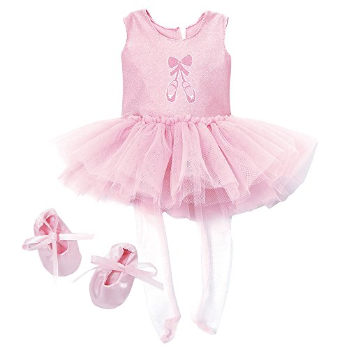Adora Amazing Girls Ballet Dance Outfit for 18 Dolls (Amazon Exclusive)