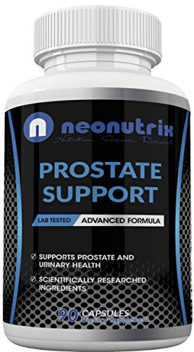 Prostate Health Supplements for Men with Saw Palmetto Extract & Plant Sterol Complex for Bladder Control Support & Urinary Tract Health Gluten-Free Formula 90 Capsules by Neonutrix