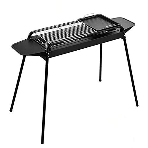 Best Price Nhlzj BBQ Supplies/Barbecue Wild Barbecue Grill Outdoor Folding Charcoal Grill 5-10 Peopl...