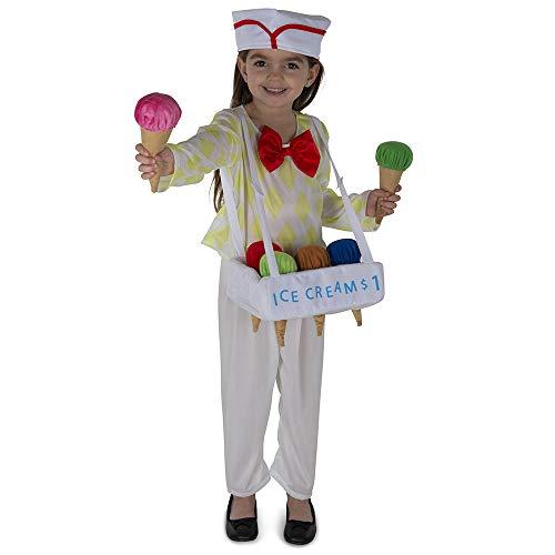Dress Up America Herren Ice Cream Costume for Kids Kostüme, Mehrfarbig, Einheitsgröße