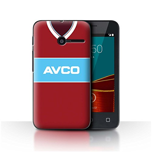 Telefoonhoesje/Cover/Skin/VD-CC/Retro Voetbal/Kit Divisie 1 Collectie Vodafone Smart First 6 West Ham 1984