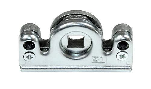 Siegenia (SI AUBI) Reparatur Getriebeschloss Schneckengehäuse für Serie Getriebe 15, FAV, TGK, TGM, TGMK, F/TGMK schraubbar mit SN-TEC Upgrade