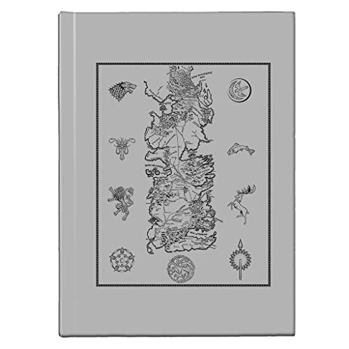 Game of Thrones War for Westeros Map Dark Hardback Journal