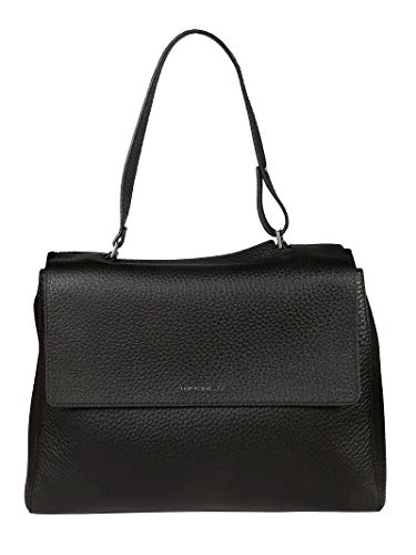 Orciani Luxury Fashion Damen B01979SOFTBLACK Schwarz Leder Handtaschen | Frühling Sommer 20