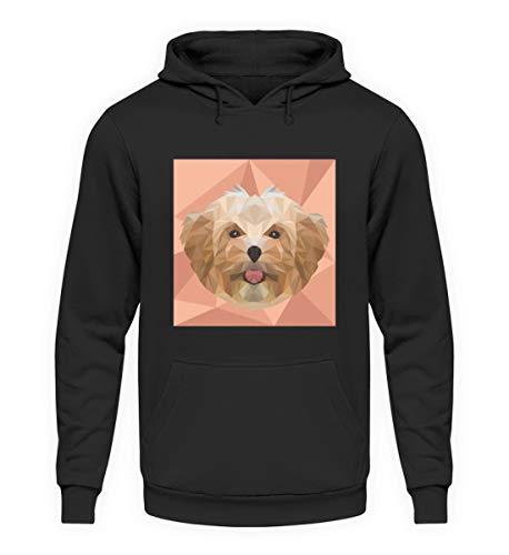 Generisch Bolonka Zwetna Polygon Hund Hoodie | Hundeliebhaber Cool Süß Unisex Kapuzenpullover