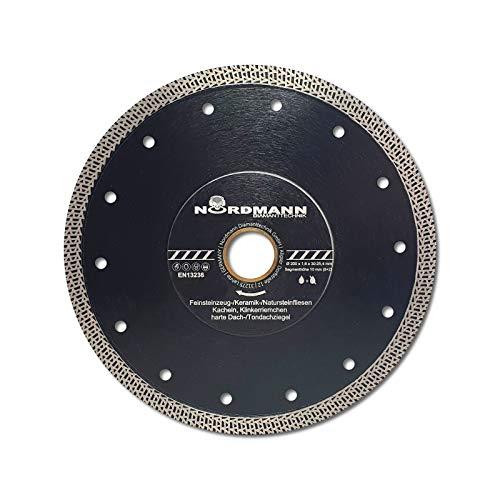FS-850 speed - Diamant-Trennscheibe - 200 x 25,4 mm - high performance Fliesen-Scheibe mit besonders dünnem Schneidrand und spezieller Segmentgeometrie für höchste Schnittgeschwindigkeiten