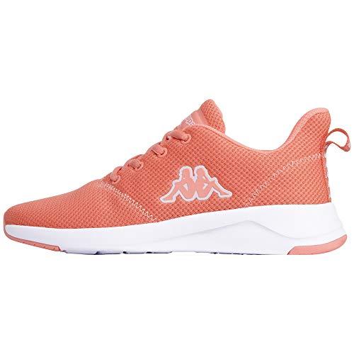 Kappa Buty sportowe dla dorosłych, uniseks, pomarańczowa - 2910 Coral White - 40 EU