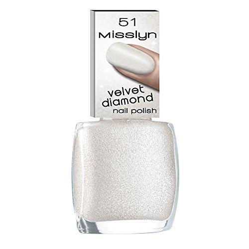 Misslyn Velvet Diamond Nail Polish Nr.51 rock candy, 10 ml