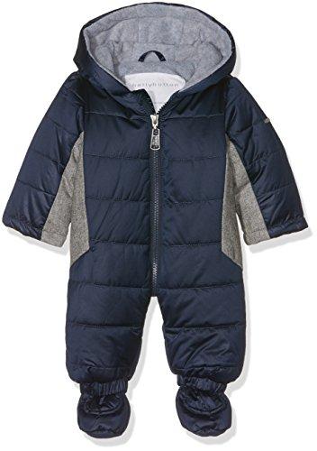 Bellybutton Kids Baby-Unisex Schneeoverall 1/1 Arm m. Kapuze Strampler, Blau (Black Iris 3800), 68