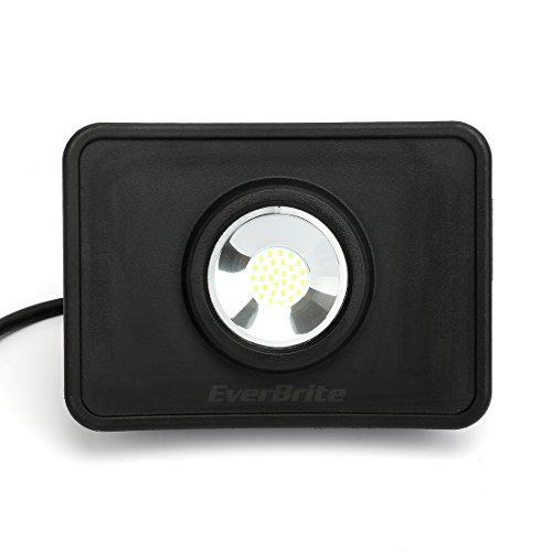 EverBrite Faretto LED da Esterno 30W 2400 lumen Bianco Illuminante 5000K, Proiettore Faro LED Impermeabile IP54, Luce per Giardino, Corridoio, Casa, Illuminazione Interna ed Esterna