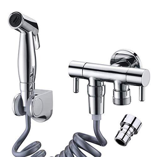 Aerosol de ducha higiénico portátil, pistola pulverizadora de boquilla de ducha anal de mano, adecuada para inodoros, esquinas limpias, etc.
