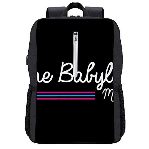 Scarface Babylon Club Miami, mochila de camionero con puerto de carga USB
