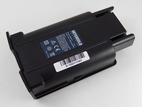 INTENSILO Batería Li-Ion 2500mAh (18V) para escoba eléctrica Kärcher KM 35/5, KM35/5...