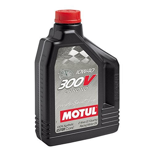 MOTUL(モチュール) 300V CHRONO (300V クロノ) 10W40 100%化学合成(エステルコア) エンジンオイル 2L[正規品] 11107841