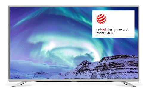 SHARP LC-55CUF8472 140 cm (55 Zoll) Fernseher (4K Ultra-HD Smart TV, Triple Tuner DVB-T/T2HD, DVB-S/S2, DVB-C, HEVC H.265)