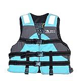 ENTRE NUBES Chaleco Salvavidas para Mujer y Niños Homologado para Deporte acuático Sup Pesca Kayak Rafting Motos de Agua Barco Infantil (Altura 155-170 cm, Peso 45-60 kg)