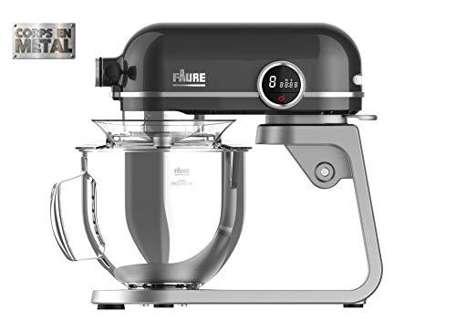 Faure FKM-801MP1 Robot Pâtissier Magic Baker Premiuim - 800W transmission directe -Mouvement...