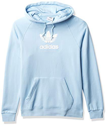 adidas Originals Men's Adicolor Hoodie Sweatshirt, Sky, L