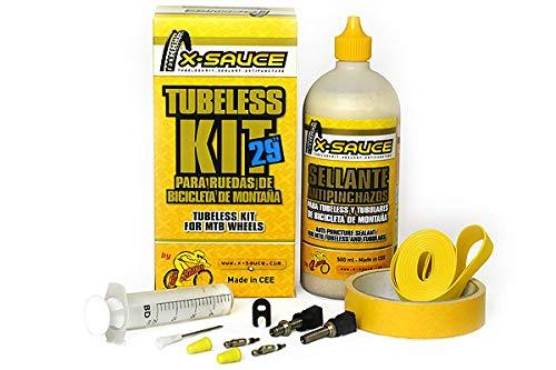 "X-Sauce Kit conversor 29"" TUBULESS, Ciclismo, Amarillo"