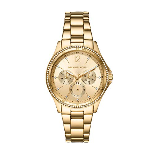 Michael Kors Women's Anabeth Three-Hand Rose Gold-Tone Alloy Watch MK7168