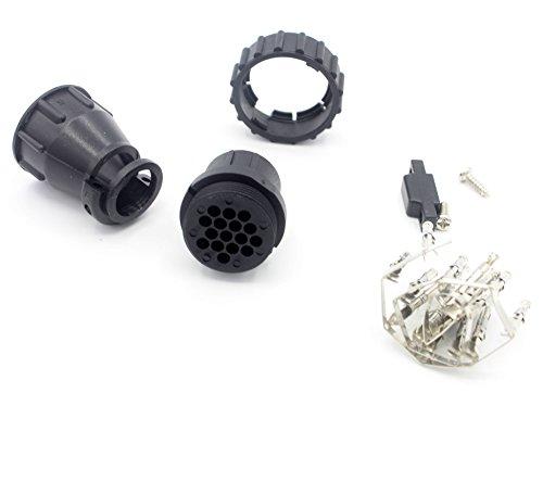 LoongGate de Remplacement de connecteur Adaptateur pour Scania 16 Broches Câble et Scanner DIY