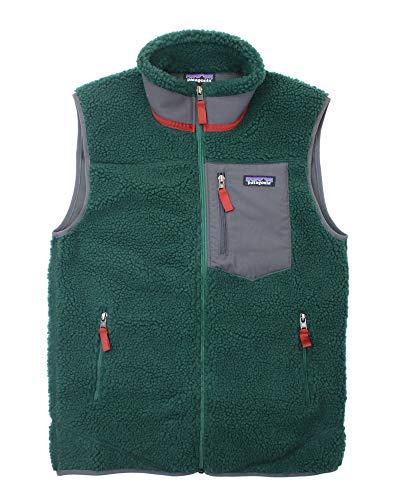フリース ベスト メンズ クラシック レトロX Men's Classic Retro-X Fleece Vest (223048) GREEN S [並行輸入品]