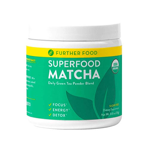 Matcha Green Tea Powder USDA Organic Japanese Matcha Powder, Natural Energy + Focus + Boost Immune System, Antioxidant Plant-Based Detox Superfood (30 Servings)